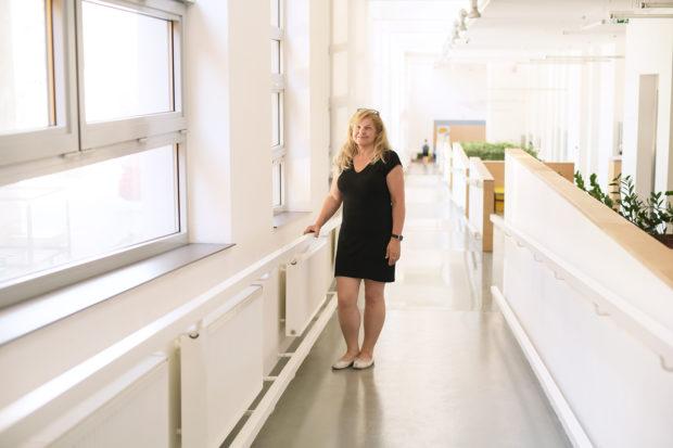 Ve Fakultní nemocnici Motol. Foto: Tereza Jirásková