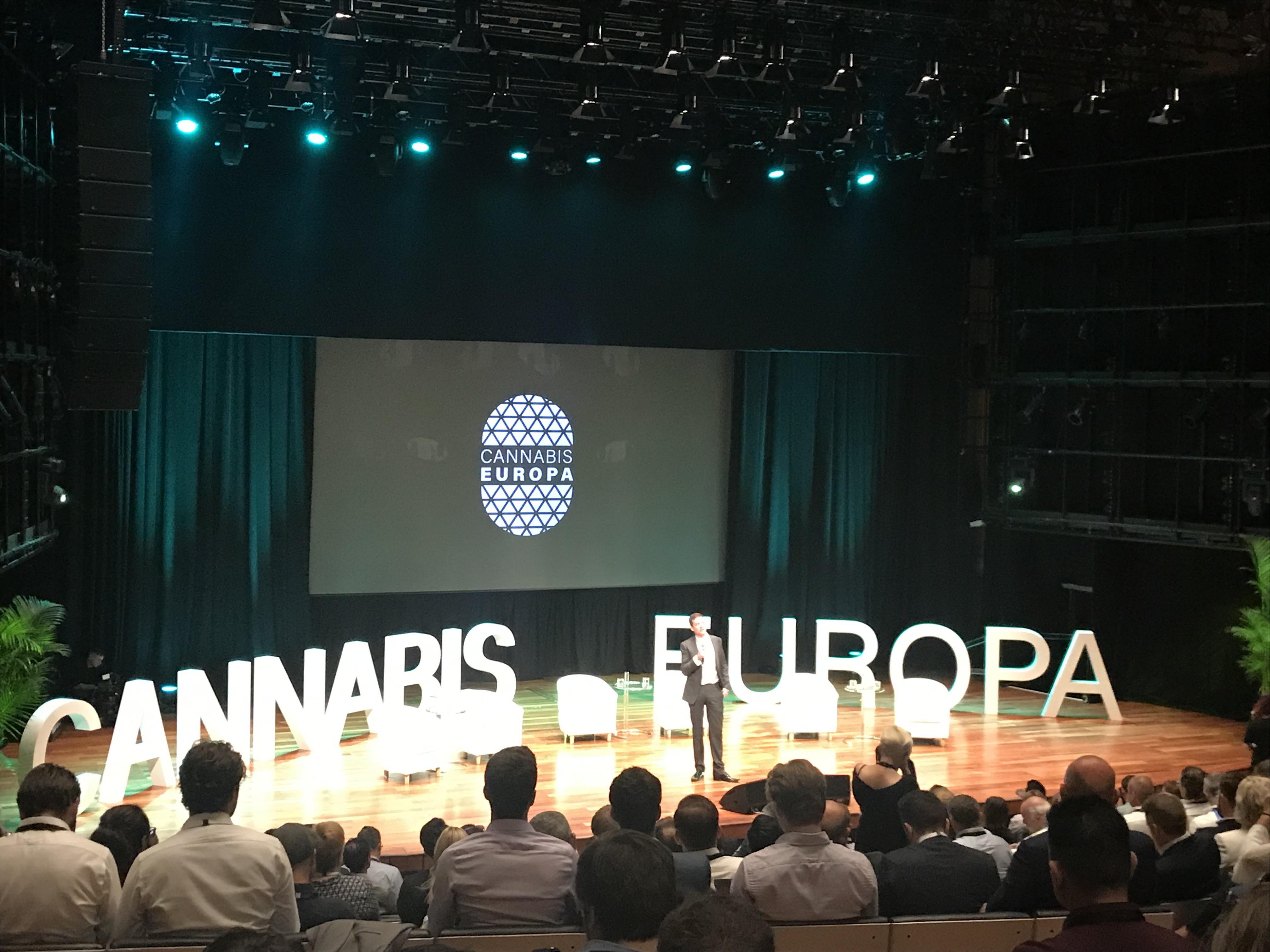 Cannabis Europa Londýn.
