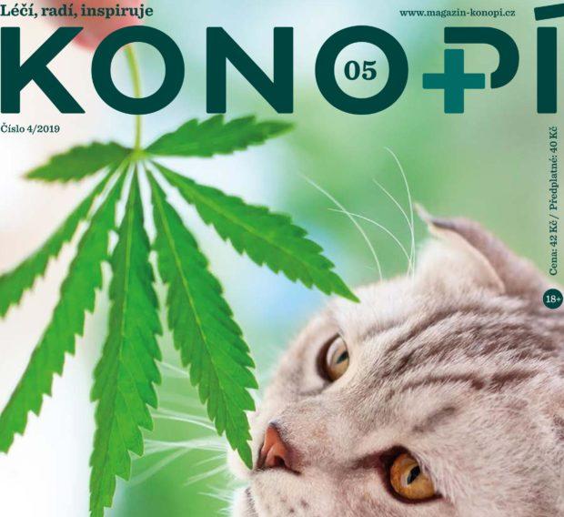 Páté vydání Konopí v prodeji od 29. srpna!