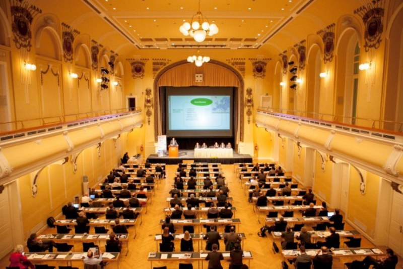 Conference hall.