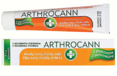 Arthrocann je konopný gel s koloidním stříbrem určený k masáži kůže v oblasti kloubů, svalů, šlach a zad.
