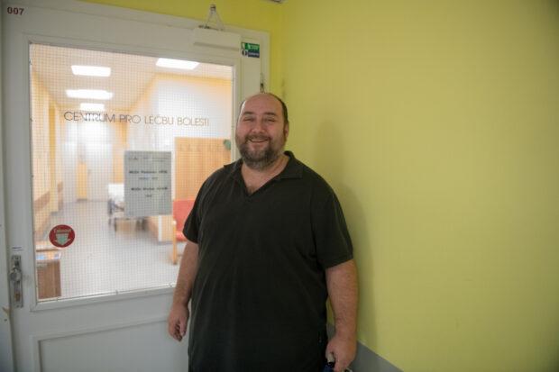 MUDr. Radovan Hřib, vedoucí lékař Centra pro léčbu bolesti