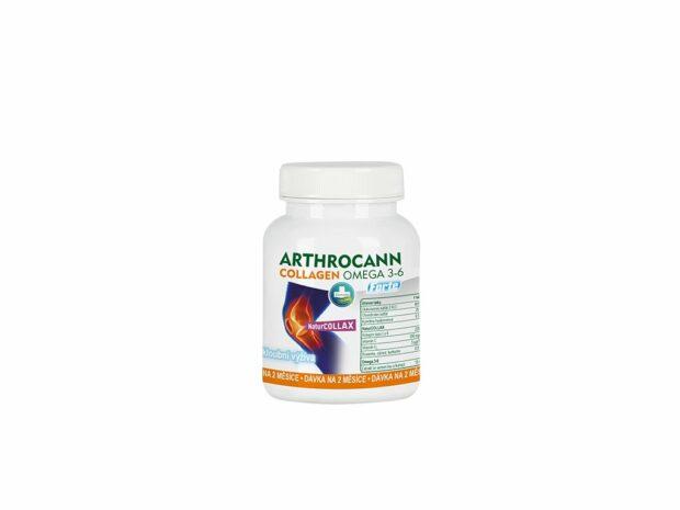 Arthrocann Colagen je přirozená péče o klouby, šlachy a kloubní vazivo.