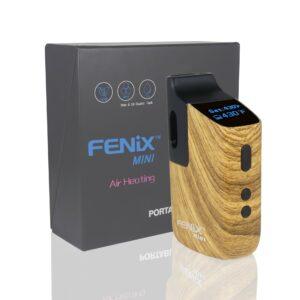 Fenix Mini je malý buclatý vaporizér, který se dá pohodlně schovat v dlani.