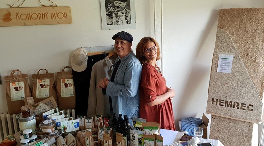 Dušan a Mirka v PD Vajnory