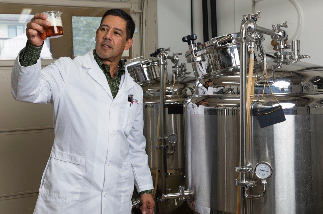 Konopné pivo se vaří i v USA. Zdroj: Keith Villa