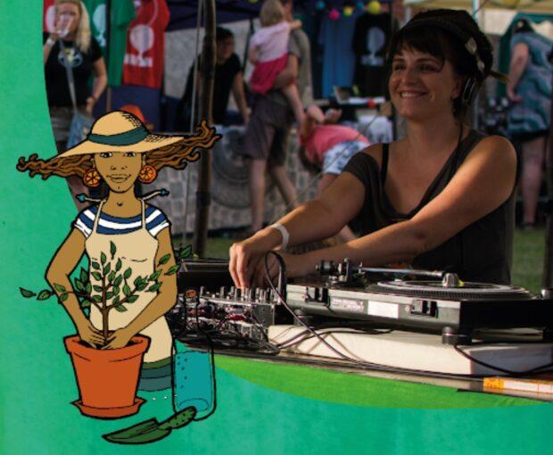 DJ Dasha Fyah byla jedna z učinkujících festivalu.
