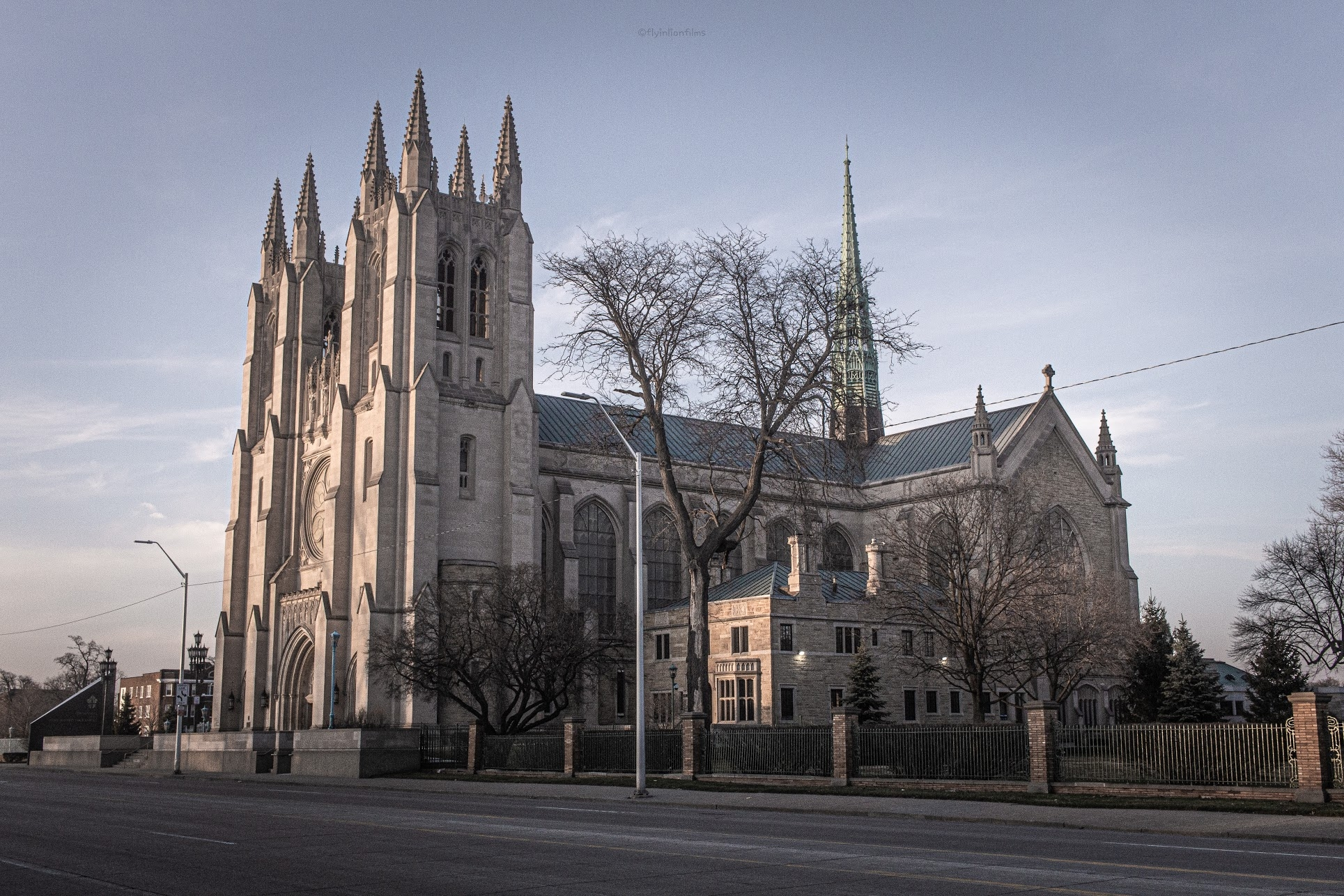 The Cathedral of the Most Blessed Sacrament, Detroit. Photo Karhlyle Fletcher