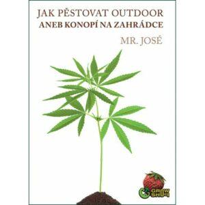 Kniha Jak pěstovat outdoor k předplatnému magazínu Konopí.