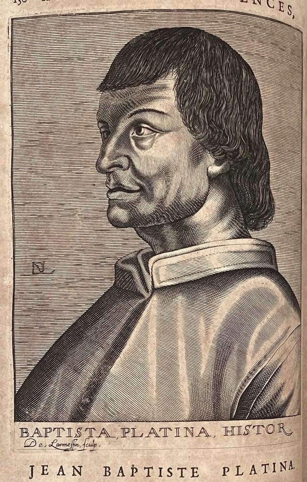 Autor první tištěné kuchařky Bartolomeo Platina věnoval ve své knize konopí celou kapitolu.