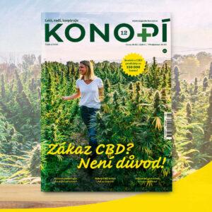Konopí č. 12 v prodeji od 29. října na stáncích a vybraných pobočkách České pošty.
