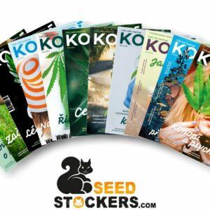 Říjnová akce na předplatné s 20 semeny Seedstockers.
