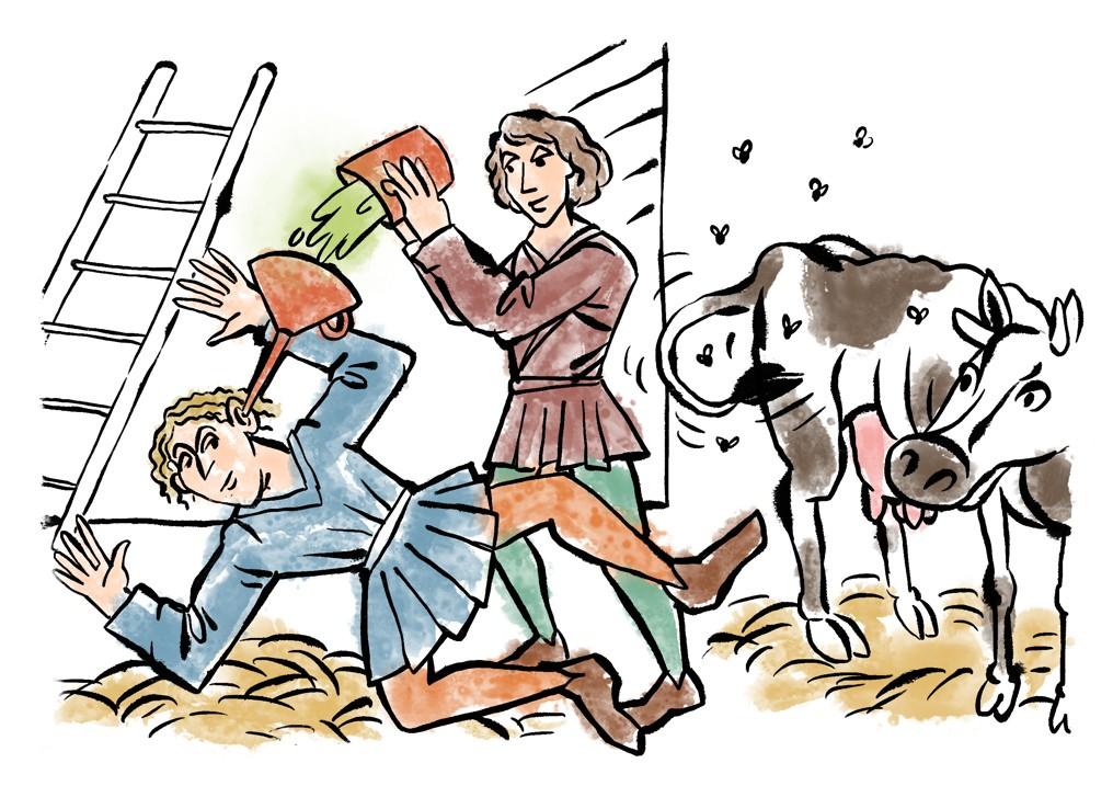 Mízka zlistí konopného vpouští se do uší proti jich bolení od zacpání pocházející a proti červuom vnich.Ilustrace: Lazybastard.cz