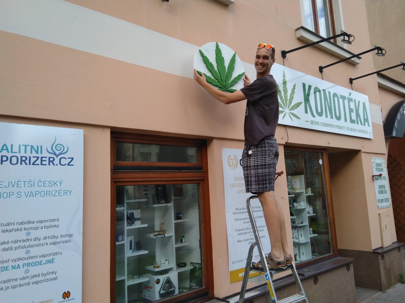 KONOTÉKA - obchod s konopným zbožím v Českých Budějovicích.