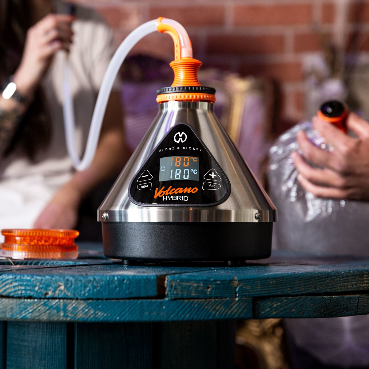 Vaporizers are modern way of using cannabis. Source: Storz & Bickel