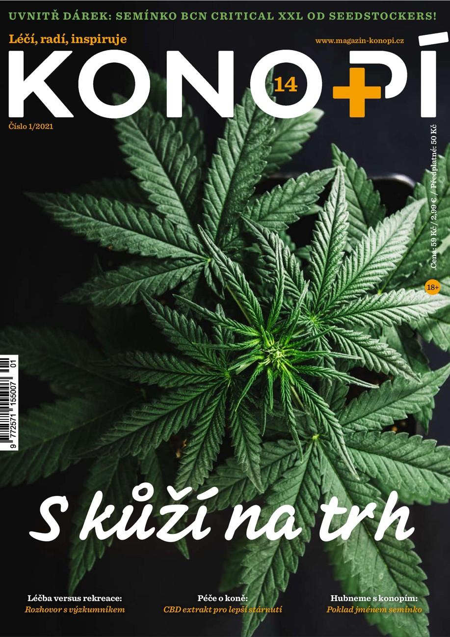 Konopí č. 14 najdete od 22. února na stáncích a vybraných pobočkách České pošty.