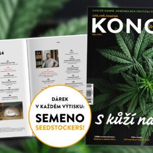 Konopí č. 14 v prodeji od 22. února na stáncích a vybraných pobočkách České pošty