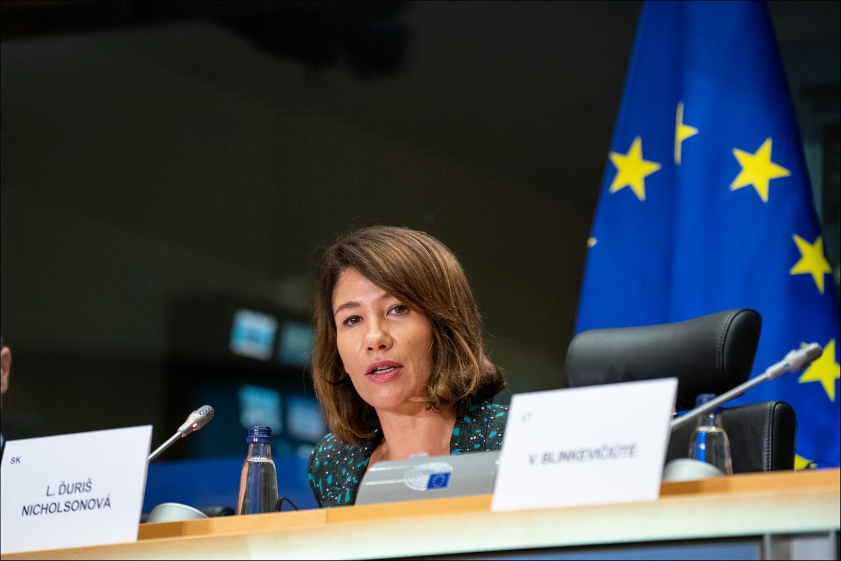O vyřazení CBD ze seznamu psychotropních látek se zasadila i europoslankyně Lucia Ďuriš Nicholsonová. Foto: Wikimedia Commons