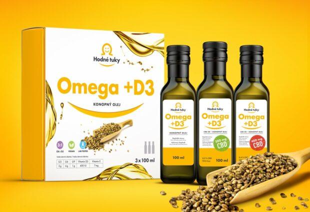 Esenciální mastné kyseliny, veganský vitamin D3 a CBD vám pomohou vrátit život do rovnováhy.