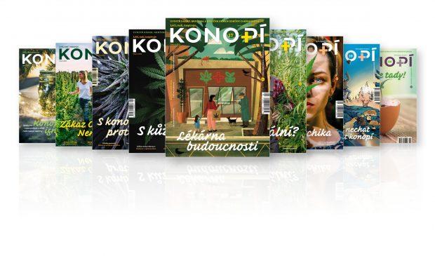 Konopí č. 12 v prodeji od 26. srpna na stáncích a vybraných pobočkách České pošty.