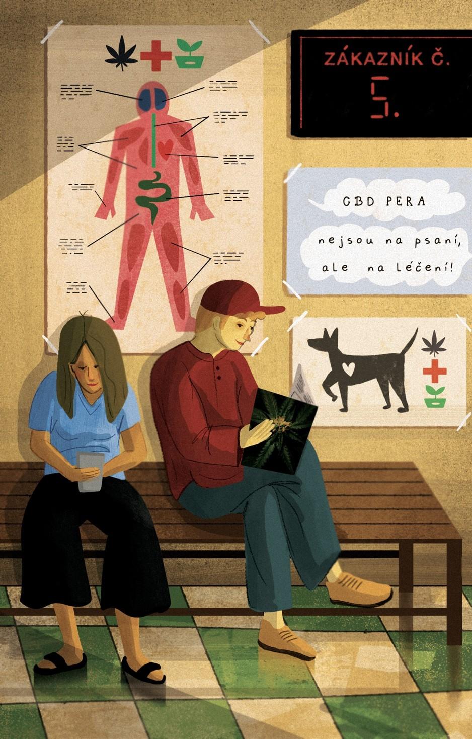 Ilustrace: Michaela Hoffová