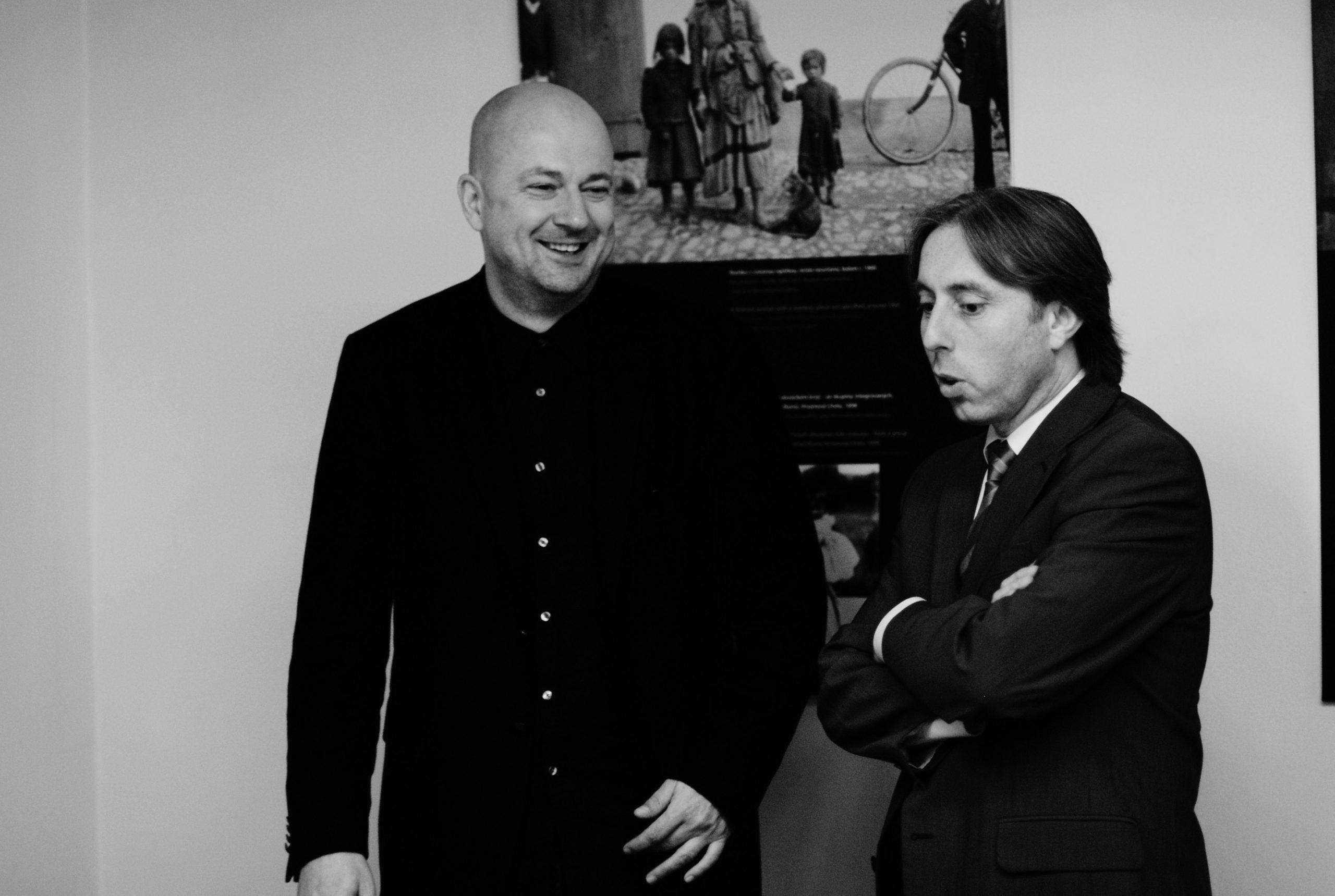 S bývalým národním protidrogovým koordinátorem Jindřichem Vobořilem. Foto: Tereza Jirásková