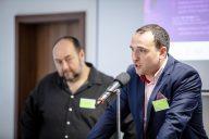 Hlavní organizátor Václav Trojan zahajuje dosud poslední ročník konference v roce 2019.