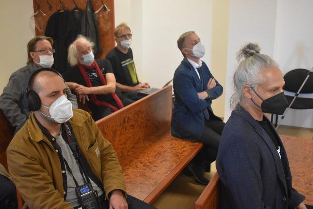 V soudní síni. Foto: František Kuba